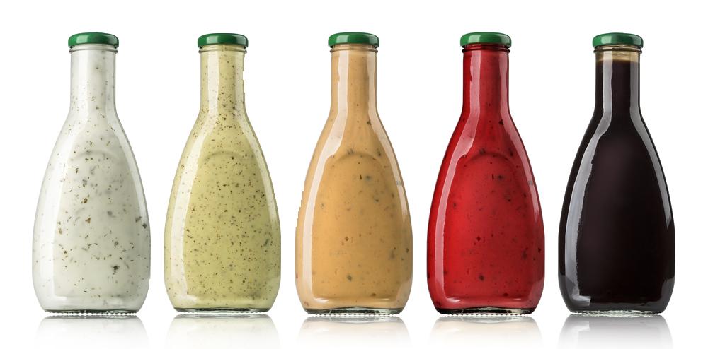sauce bottle variety