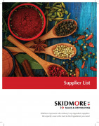 Skidmore supplier list graphic